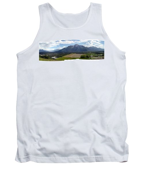 On A Butteiful Day Tank Top by Ron Bissett