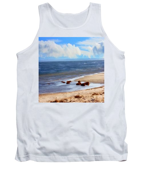 On A Clear Day Tank Top by Judy Palkimas