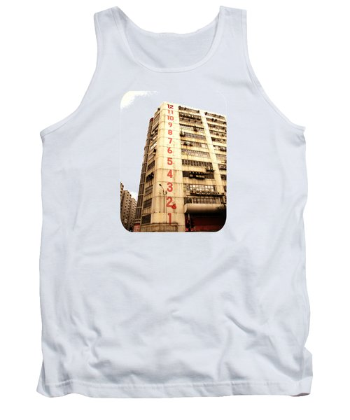 Tank Top featuring the photograph On A Dozen Different Levels by Ethna Gillespie