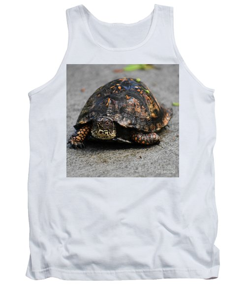 Tank Top featuring the photograph On A Mission by Skip Willits