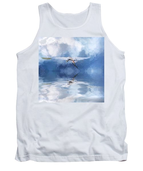 On A Wing And A Prayer Tank Top by Cyndy Doty