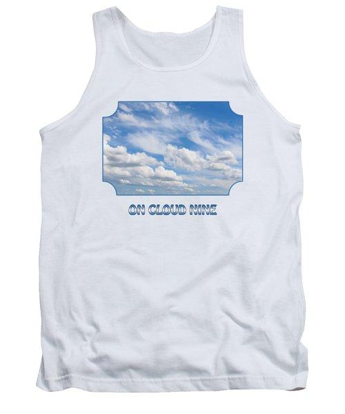On Cloud Nine - Blue Tank Top