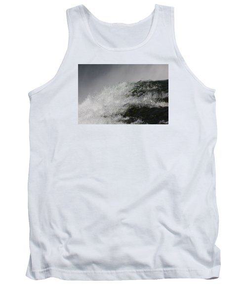 Tank Top featuring the photograph On Edge by Vadim Levin