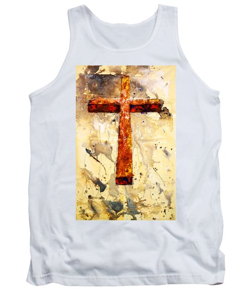 On That Old Rugged Cross Tank Top