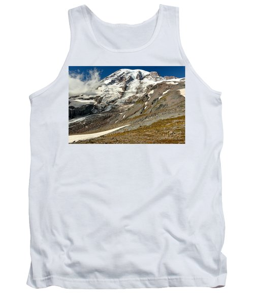 On The Edge Of The Snowfield Tank Top