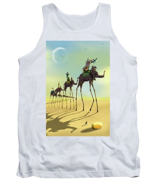 On The Move 2 Tank Top by Mike McGlothlen