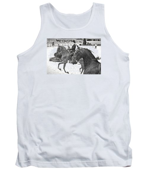 On The Outside Charcoal Tank Top by Alice Gipson