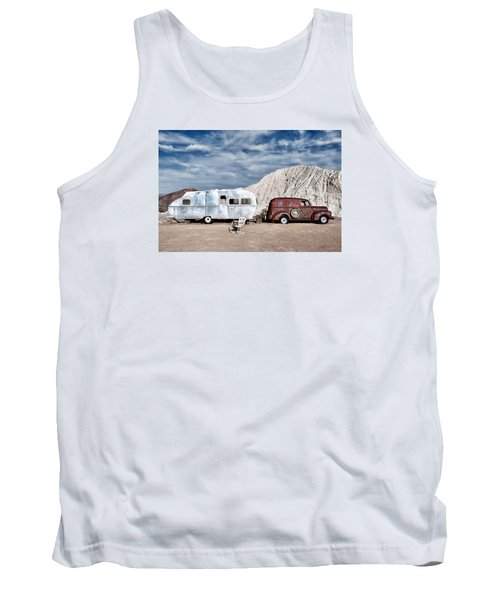 On The Road Again Tank Top by Renee Sullivan