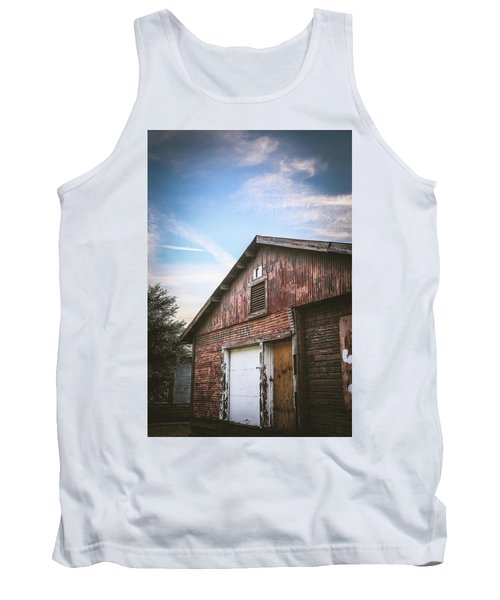 Tank Top featuring the photograph Once Industrial - Series 1 by Trish Mistric