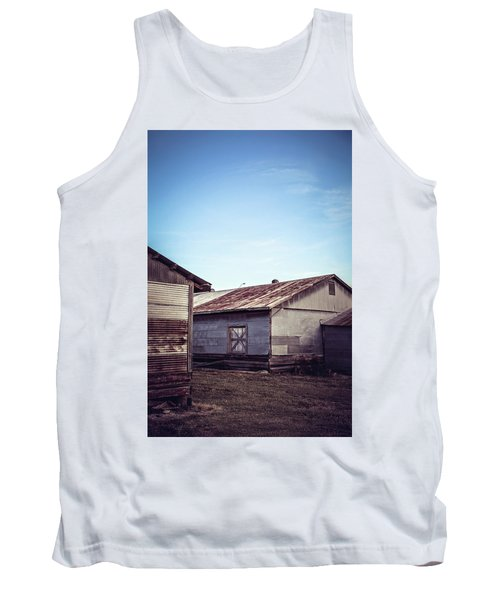 Tank Top featuring the photograph Once Industrial - Series 2 by Trish Mistric