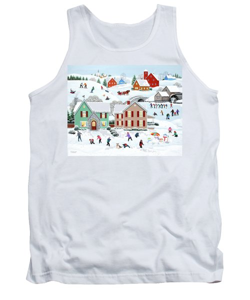 Once Upon A Winter Tank Top
