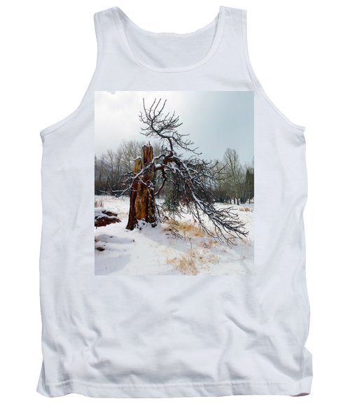 One Branch Left Tank Top