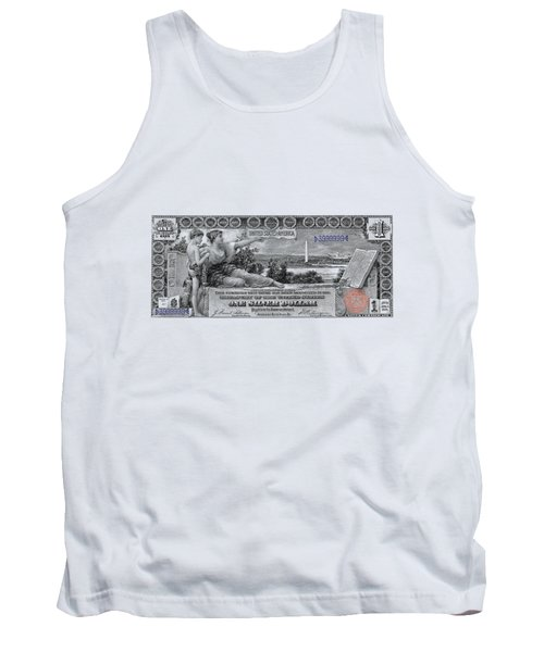 One Dollar Note - 1896 Educational Series  Tank Top