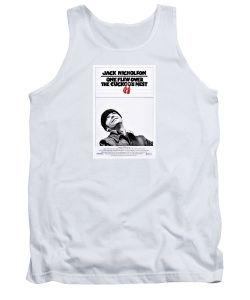One Flew Over The Cuckoo's Nest Tank Top by Movie Poster Prints