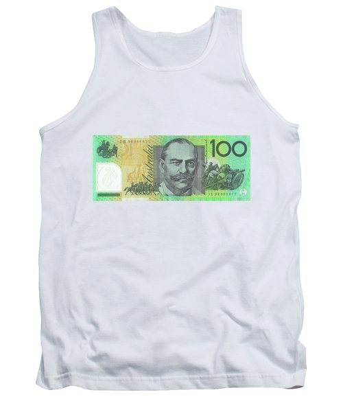 One Hundred Australian Dollar Bill Tank Top
