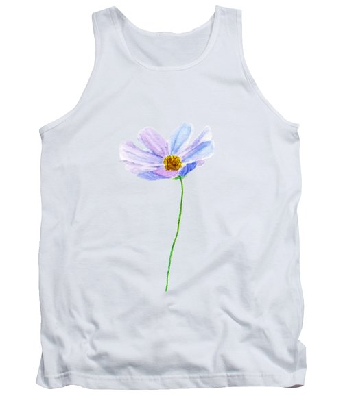 One Purple Cosmos Tank Top