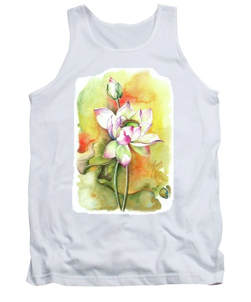 Tank Top featuring the painting One Sunny Day by Anna Ewa Miarczynska