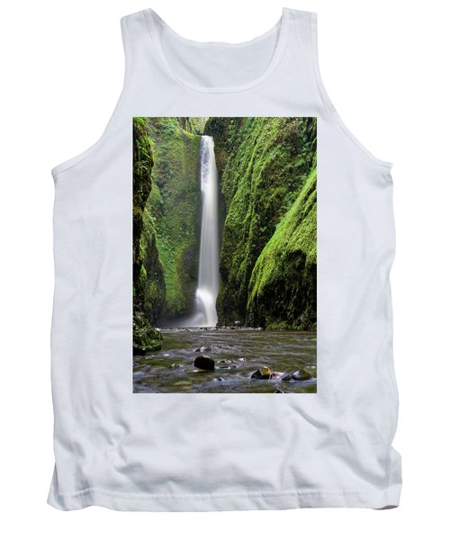 Tank Top featuring the photograph Oneonta Portrait by Jonathan Davison