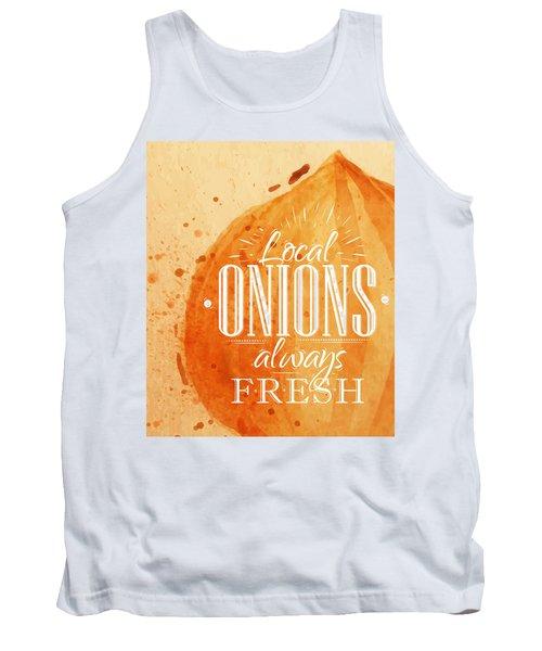 Onion Tank Top by Aloke Creative Store