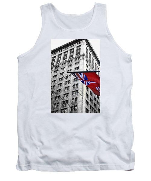 Ontario Flag Tank Top by Valentino Visentini