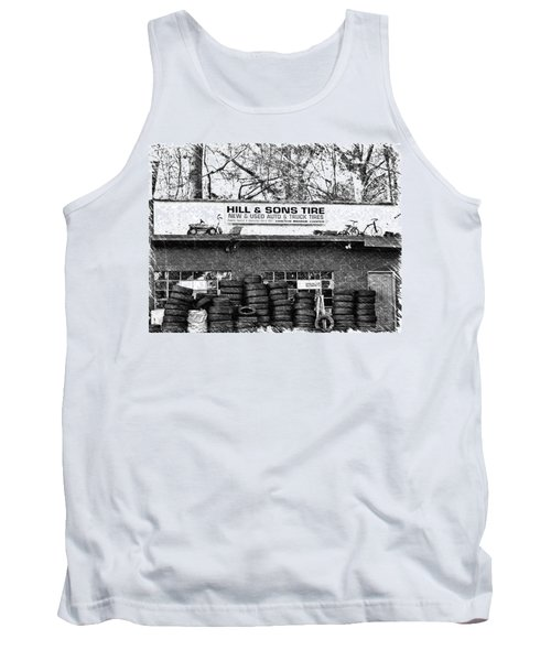 Open For Business Tank Top