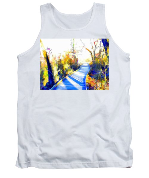 Open Pathway Meditative Space Tank Top