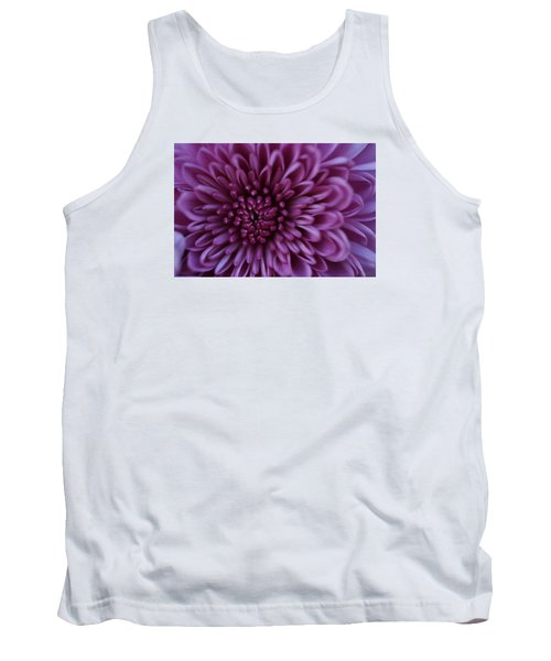 Purple Mum Tank Top by Glenn Gordon