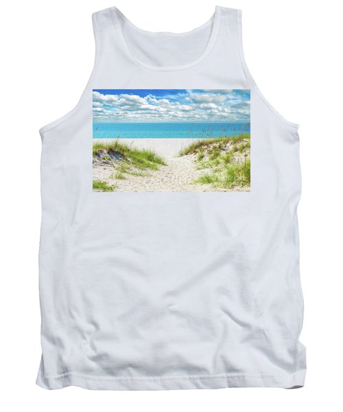 Orange Beach Al Seascape 1086a Tank Top