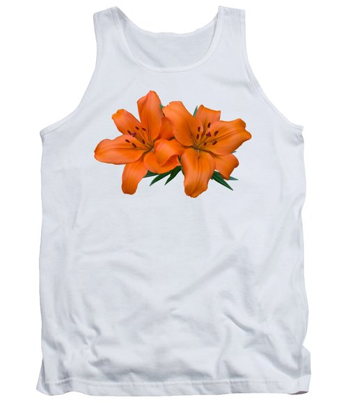Tank Top featuring the photograph Orange Lily by Jane McIlroy