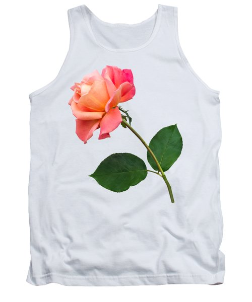 Tank Top featuring the photograph Orange Rose Specimen by Jane McIlroy