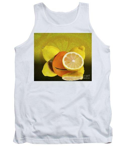 Oranges And Lemons Tank Top