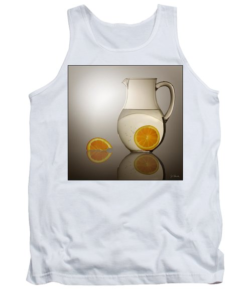 Tank Top featuring the photograph Oranges And Water Pitcher by Joe Bonita