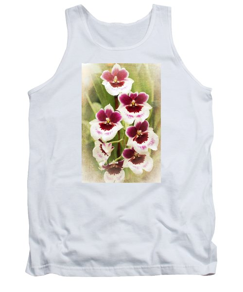 Orchid 2 Tank Top by Catherine Lau