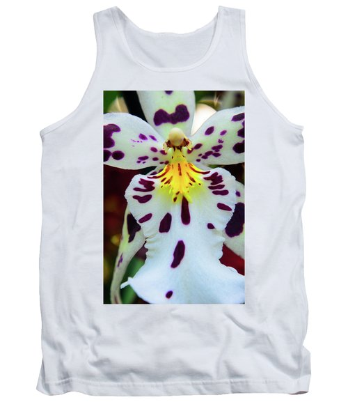 Orchid Cross Tank Top