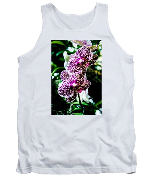 Orchid - Pla236 Tank Top by G L Sarti