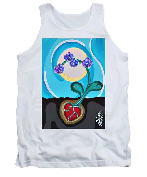 Orchids For My Love Tank Top