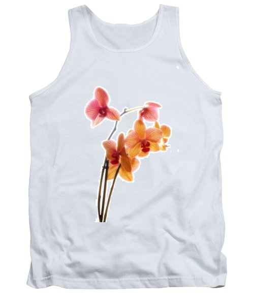Orchids Tank Top by Mark Alder