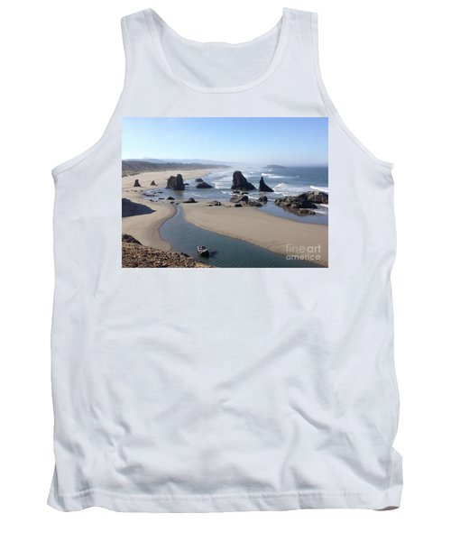 Oregon Coast Sea Stacks Tank Top