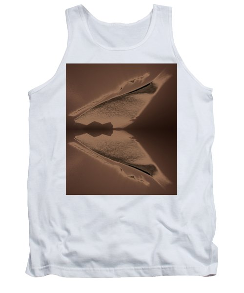 Organic Details Near That Strongly-held Dividing Line 2015 Tank Top