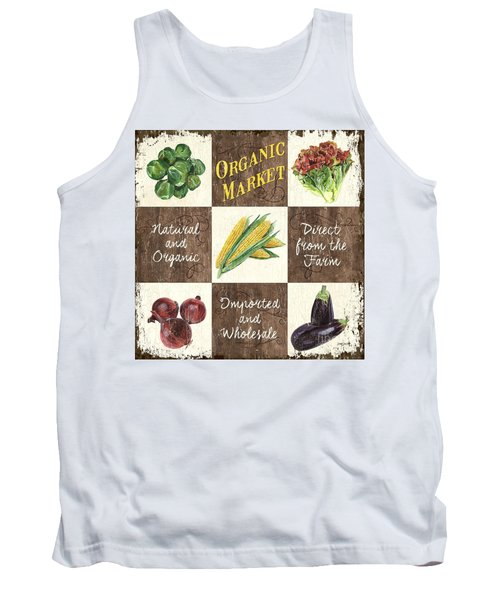 Organic Market Patch Tank Top