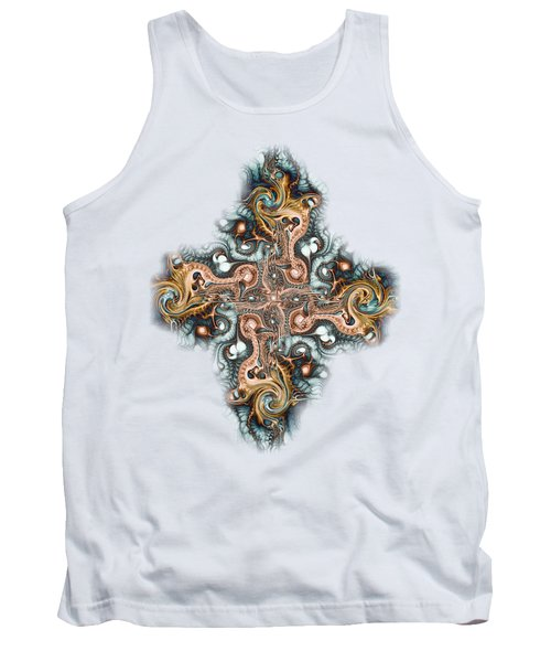 Ornate Cross Tank Top