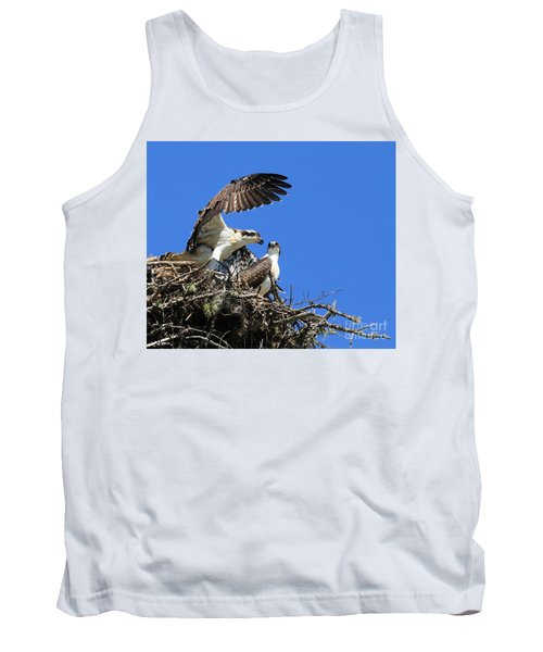 Osprey Chicks Ready To Fledge Tank Top
