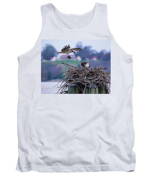 Osprey Nest Building Tank Top