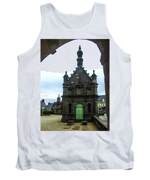 Ossuary Of St Thegonnec Tank Top by Helen Northcott
