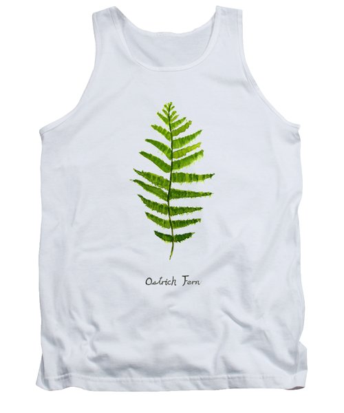 Ostrich Fern Tank Top by Color Color