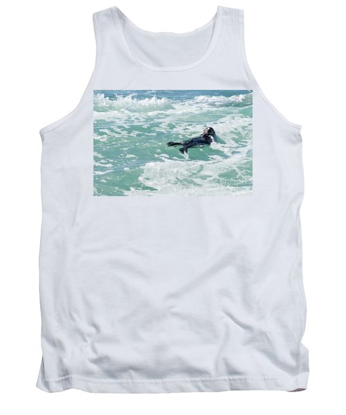 Otter At Montana De Oro Tank Top by Michael Rock