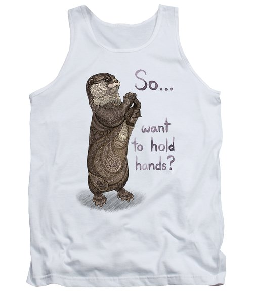 Otter Valentine Tank Top by ZH Field