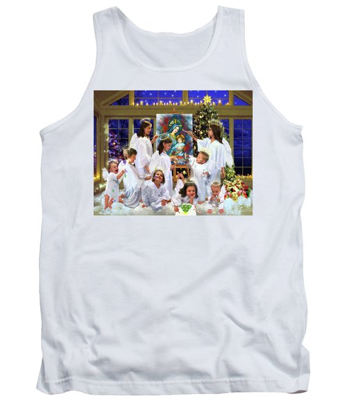 Our 2017 Christmas Angels Tank Top
