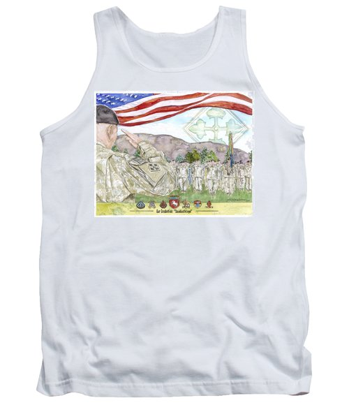 Our Credentials Steadfast And Loyal Tank Top