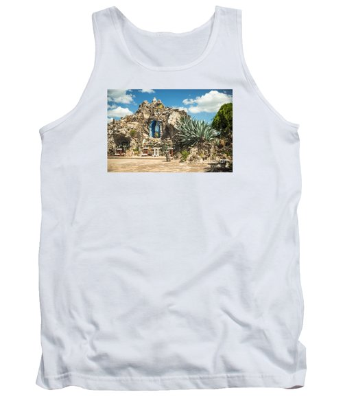 Our Lady Of Lourdes Grotto Tank Top